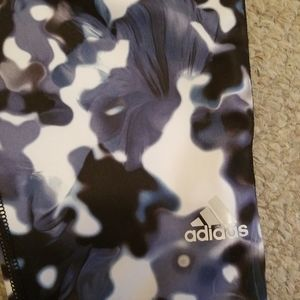 adidas Pants & Jumpsuits - Adidas Tech Fit Cropped Workout Yoga Pants
